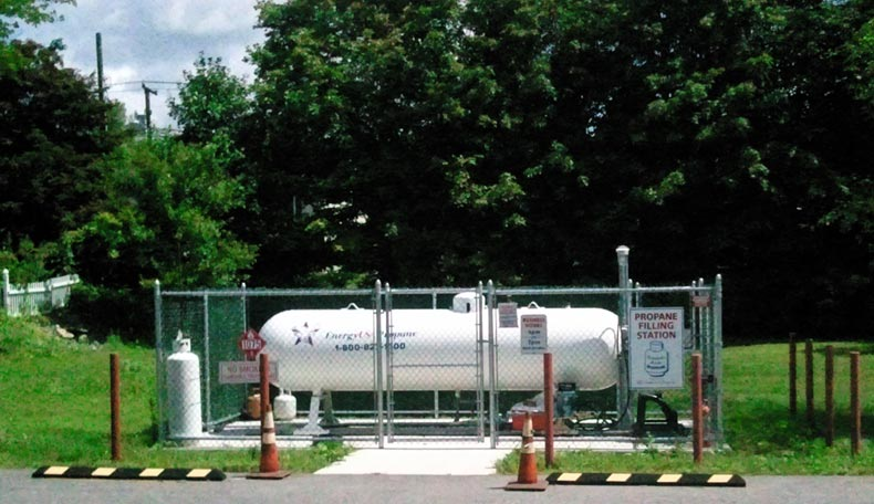 propane fill station